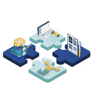 module e-santé assemblables pour réaliser des parcours patient.