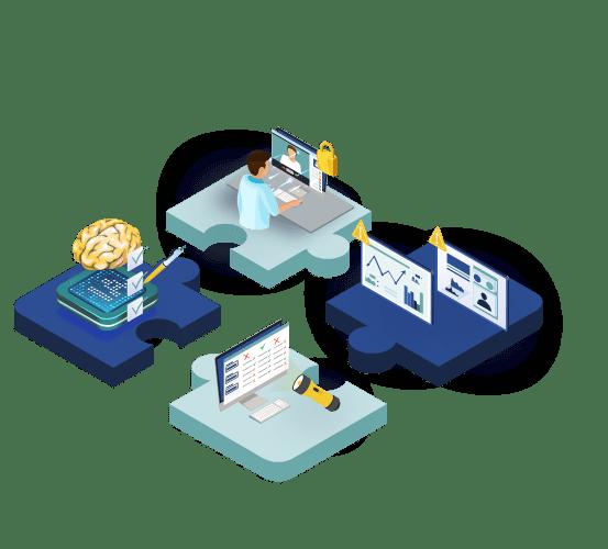 logo association des composants questionnaire intelligent teleconsultation telesuivi et diagnostic différentiel